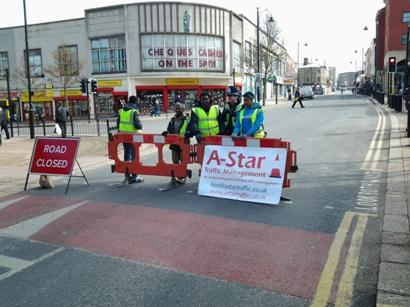 A-Star road closure