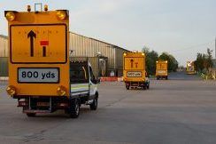 Mobile Lane Closure